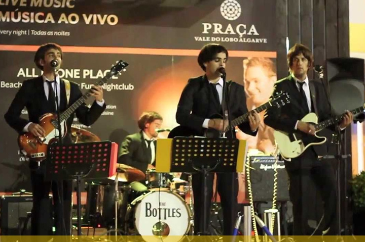 Tribute night to the Beatles in SAND CITY
