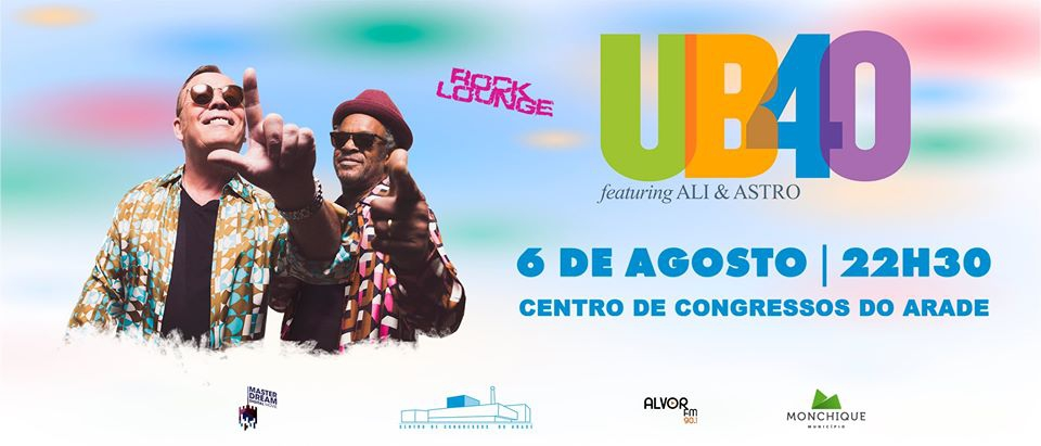 UB40 Concert in Parchal - PDM Travel