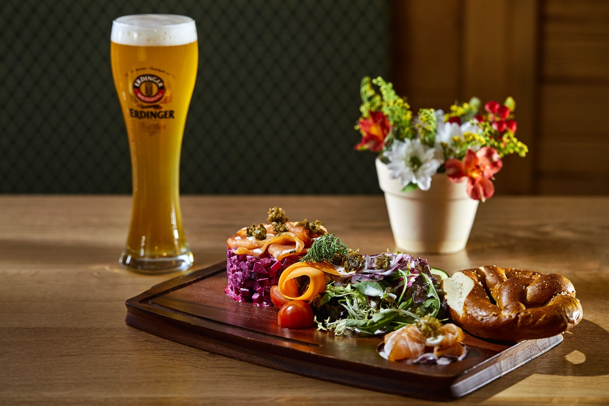 Valentine's Day at VILA VITA Biergarten - special Lovers Menu