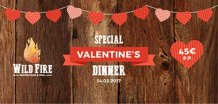 Valentine's Day at Wild Fire | Vila Sol