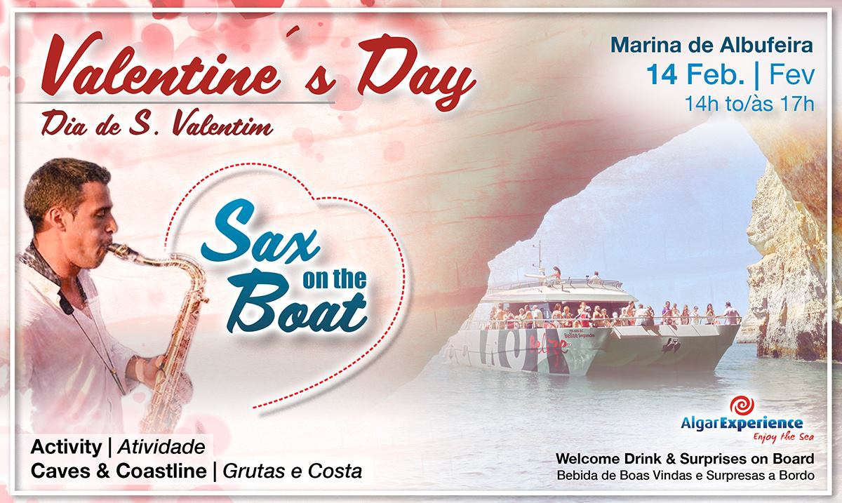 Valentine's Day - Sax on the Boat