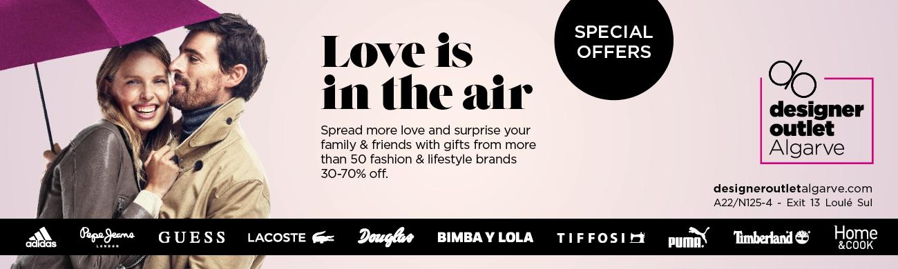 Valentine's Discounts at Designer Outlet Algarve