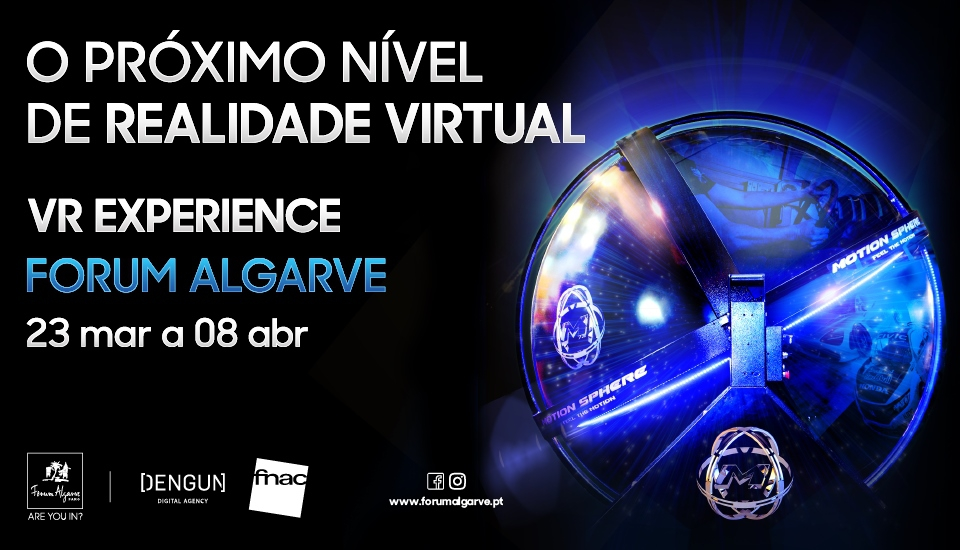 Virtual Reality Experience at Forum Algarve