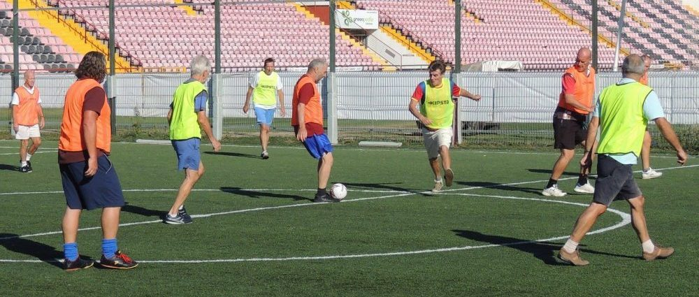 Walking Football in the Algarve
