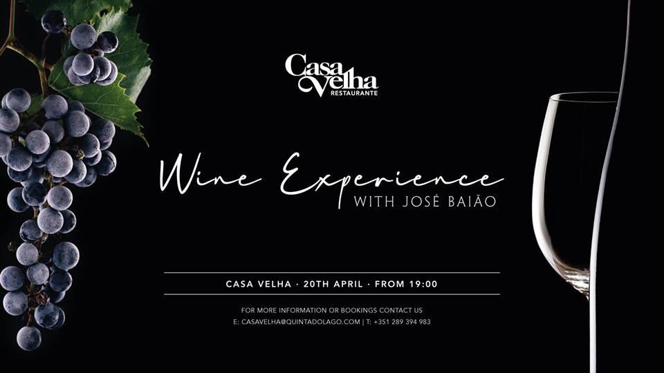 Wine Experience with José Baião