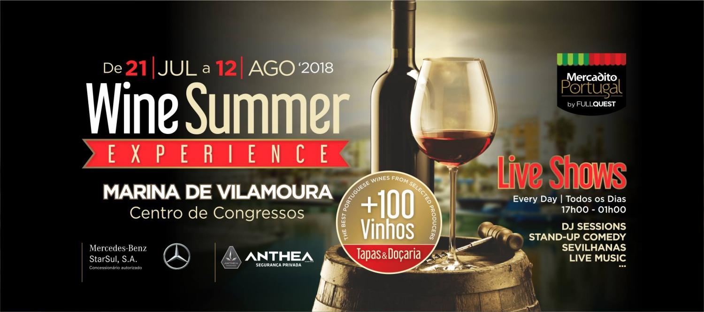 Wine Summer Experience at Vilamoura Marina