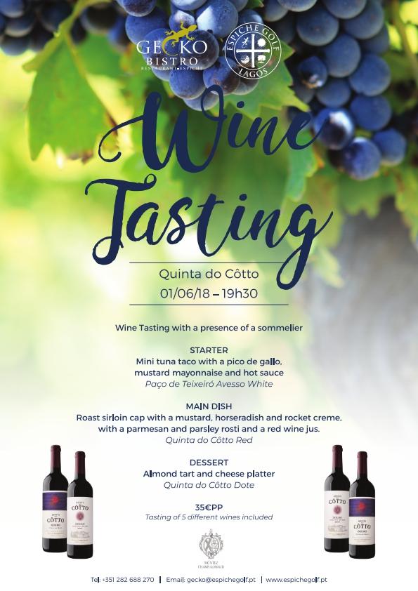 Wine Tasting at Gecko Bistro