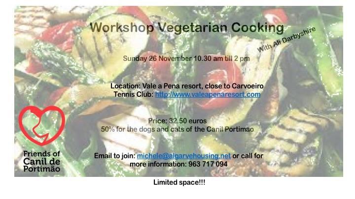 Workshop Vegetarian Cooking