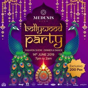 Bollywood Party at Medusis