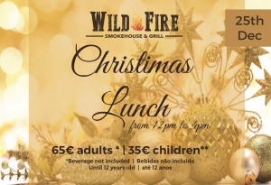 Christmas Lunch at Wild Fire