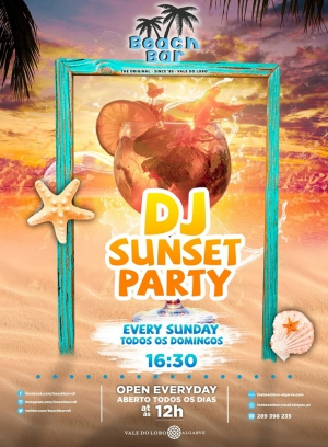 DJ Sunset Party at the Beach Bar