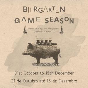 Game Season at VILA VITA Biergarten