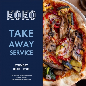 KOKO Take Away Service