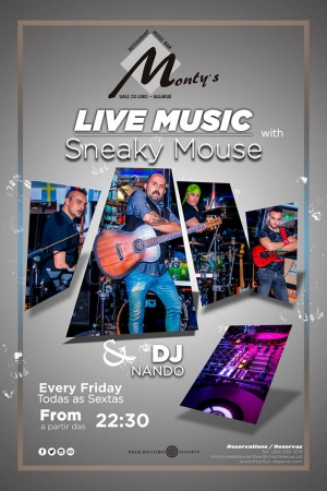 Live Music is Back at Monty's