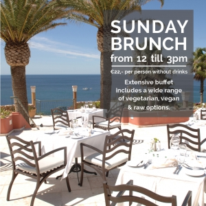 Sunday Brunch Buffet at Mirandus Restaurant, Vivenda Miranda