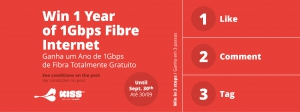 Win 1 Year of 1Gbps Fibre Internet with Lazer Telecom