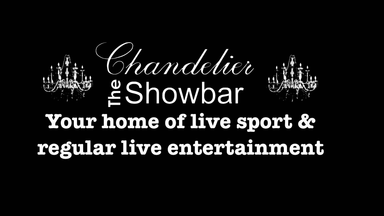 Chandelier Sports & Entertainment Bar