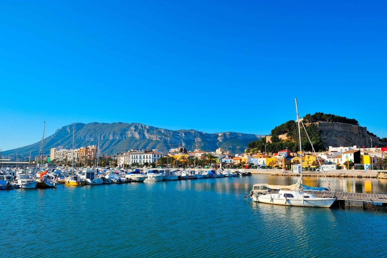 Denia Sailing Trip & Lunch at the Port