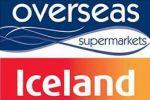 Overseas supermarket stockists of Iceland & Waitrose