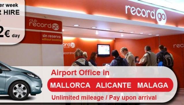 Record Car Hire Mallorca Airport