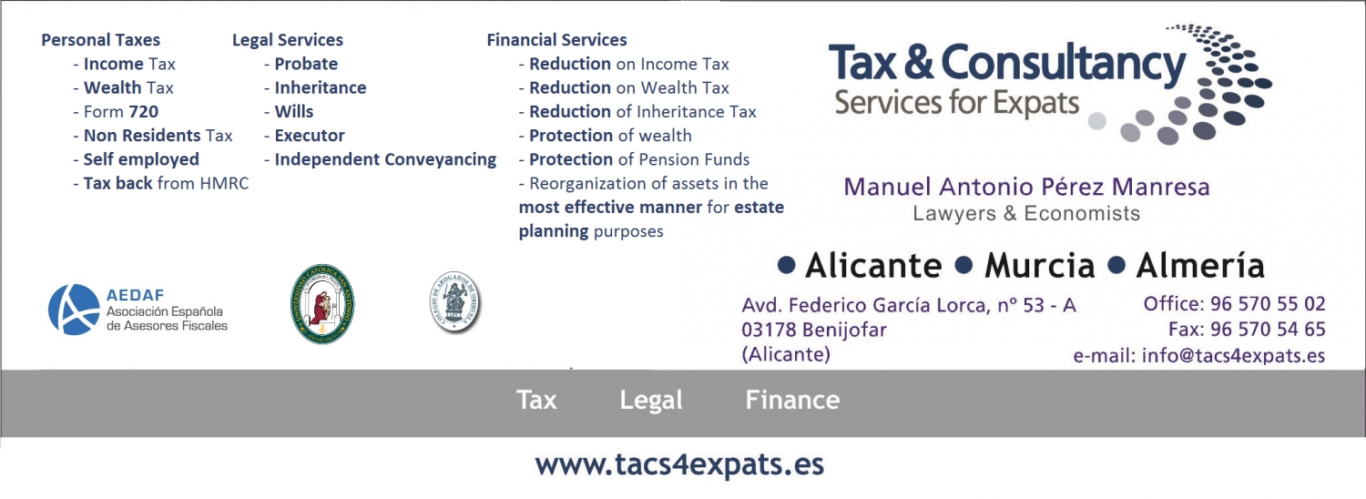 Tax & Consultancy Services for Expats