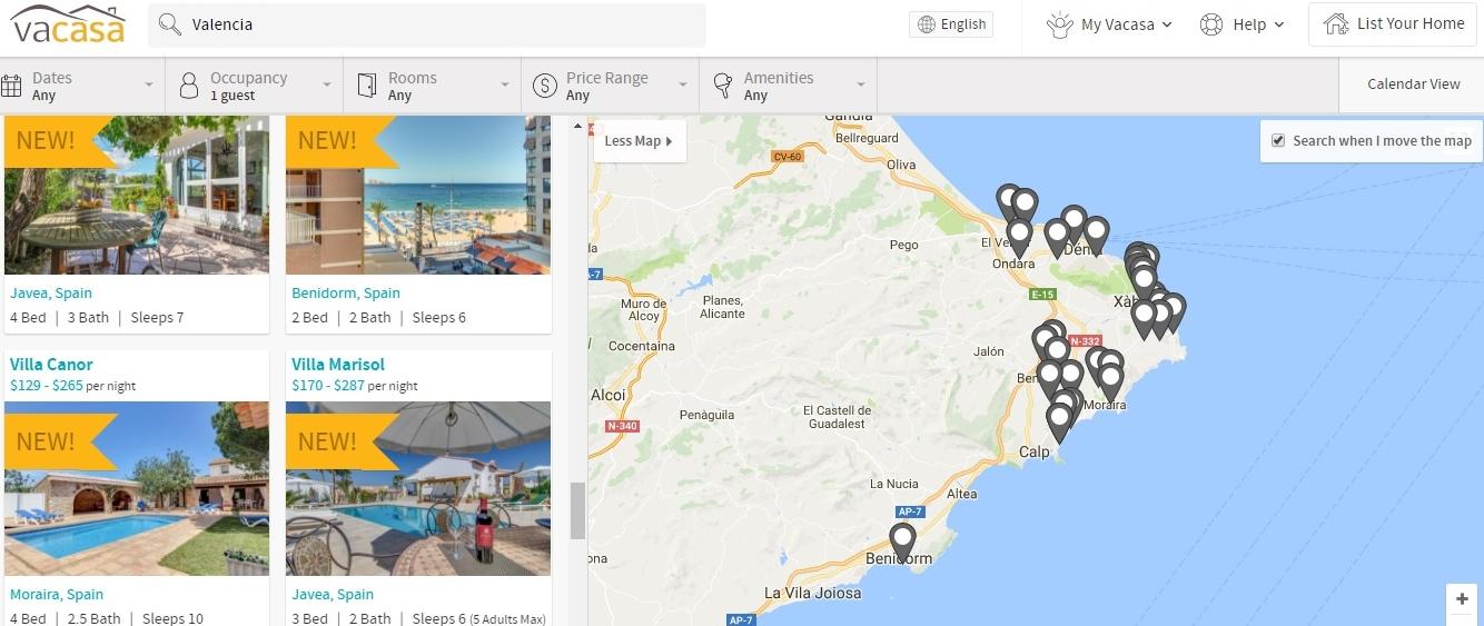 Vacasa - Alicante holiday rentals