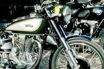 Antique Cars and Motorbikes exhibition