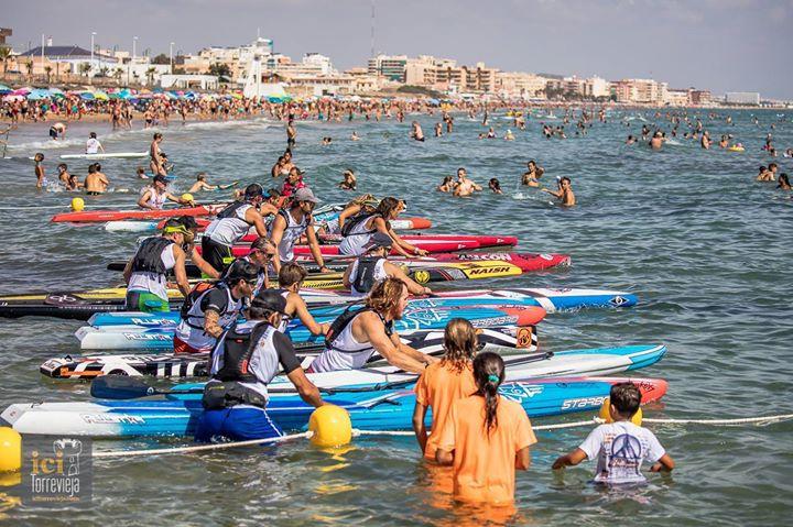 1 de Abril Circuito Mediterraneo de SUP Race Alboraia