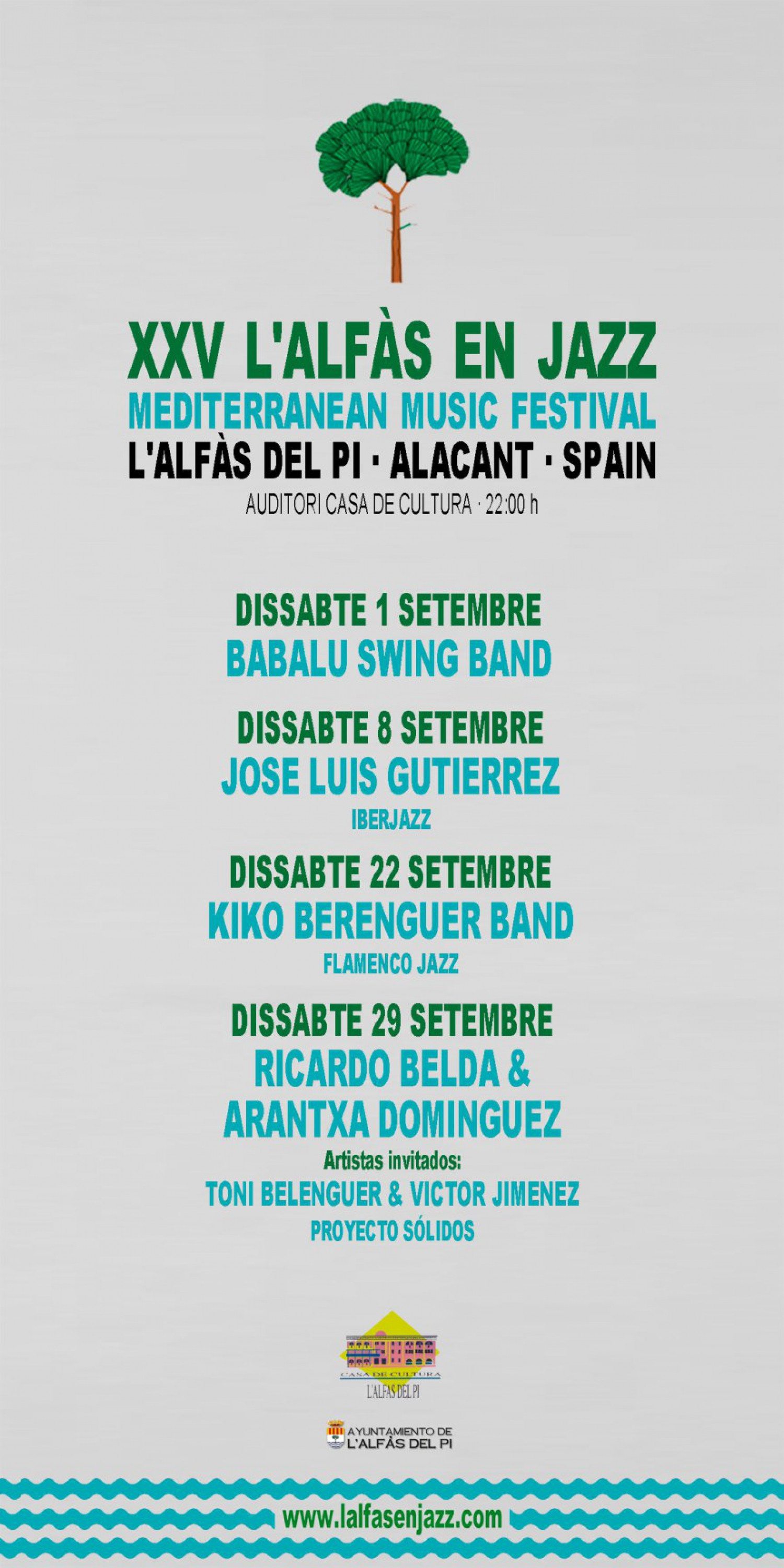 25th Jazz Festival in Alfaz del Pi