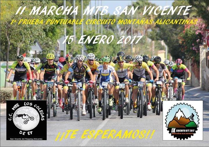 2ª Marcha BTT San Vicente del Raspeig