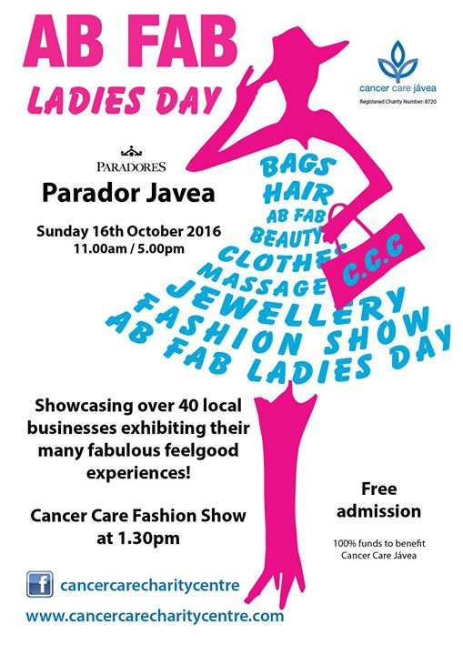 Ab Fab' Ladies Day Fair, Cancer Care, Javea
