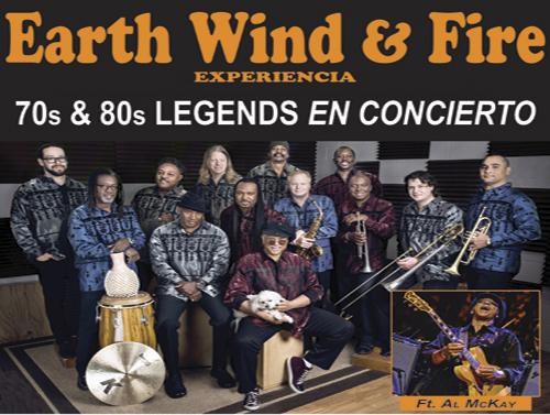 AL MCKAY'S - EARTH WIND & FIRE Experience