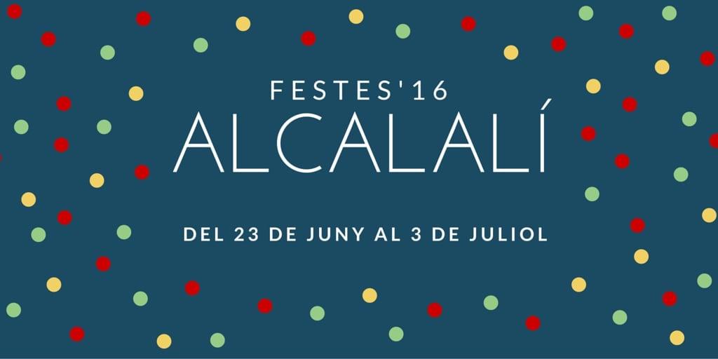 Alcalali fiesta in honour of San Juan de Mosquera and al Cristo de la Salud.