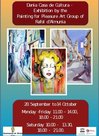 Art exhibition in Denia