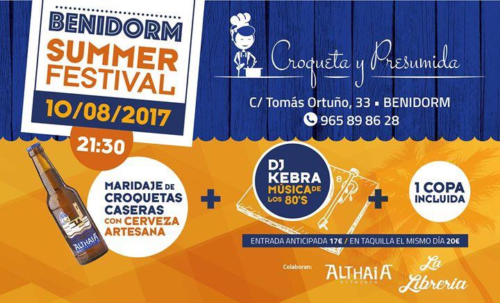 Benidorm Summer Festival Croquettes