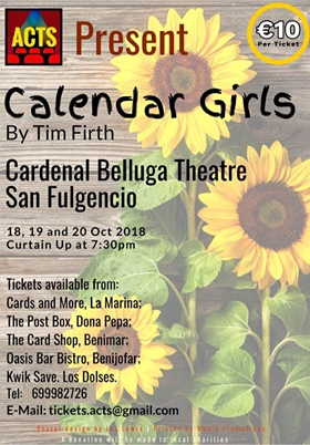 Calendar Girls at San Fulgencio