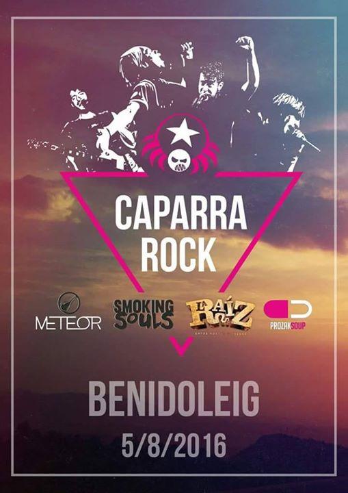 Caparrarock2016 Benidoleig