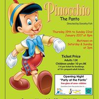 Careline Theatre presents Pinocchio The Panto