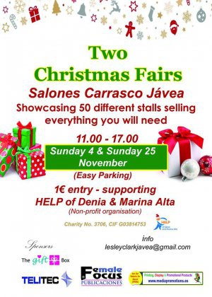 Christmas Fairs in Javea