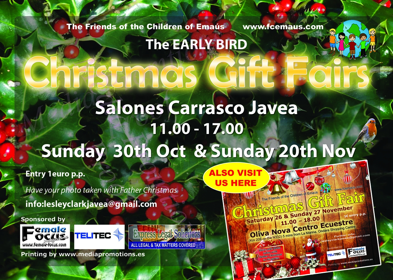 Christmas Gift Fair in Javea