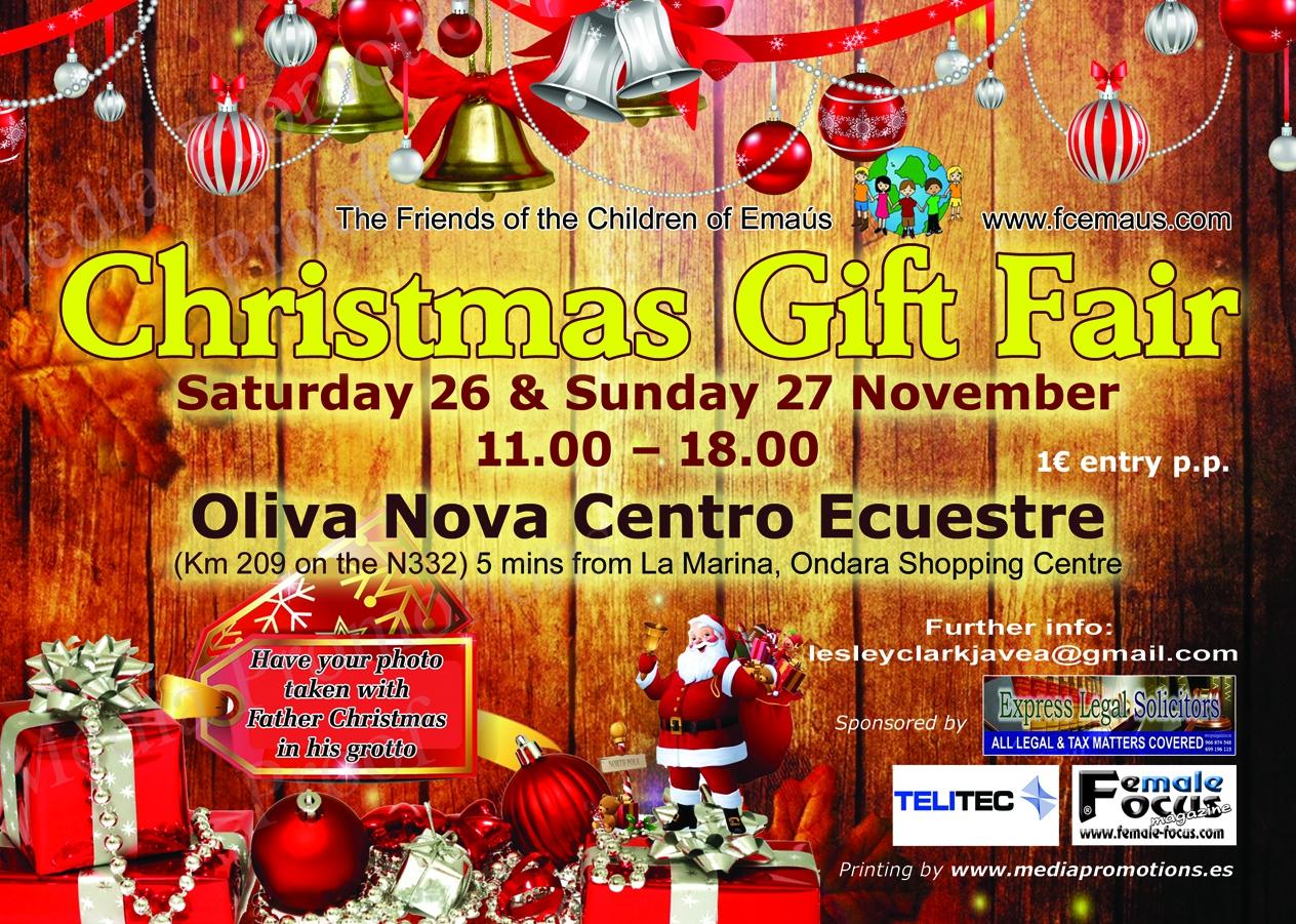 Christmas Gift Fair in Oliva Nova