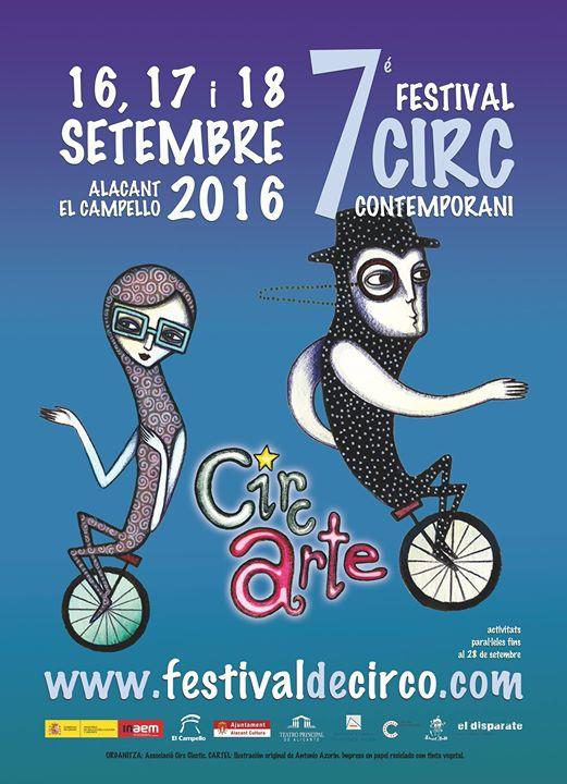 Circarte 2016 - 7° Festival de Circo Contemporáneo