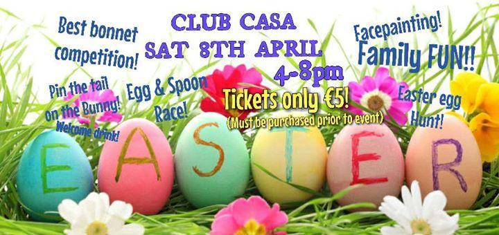 Club Casa Easter EGGSTRAVAGANZA!!