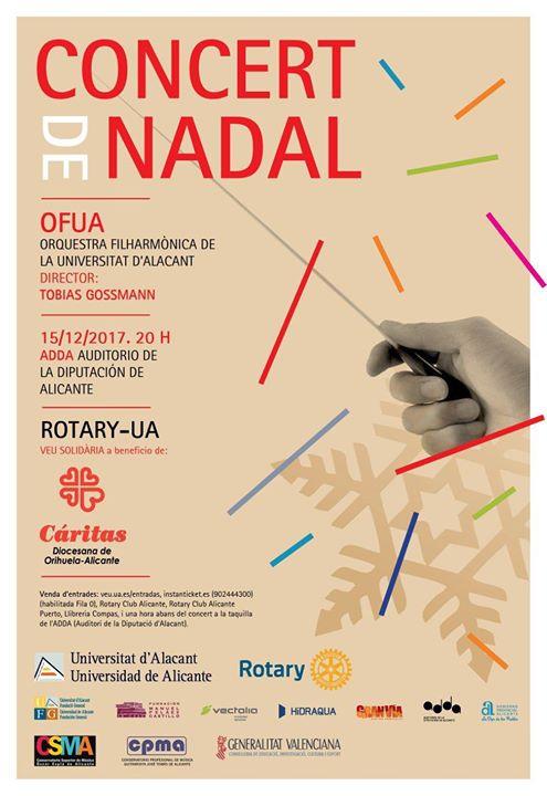 Concierto de Navidad Rotary-Universidad de Alicante