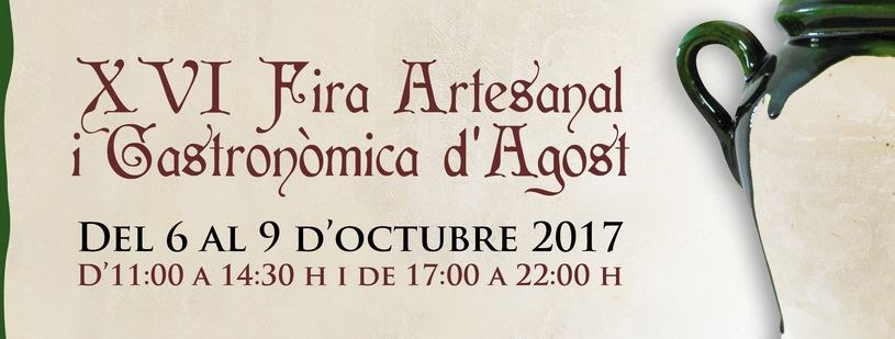 Craft & Gastronomy Fair in Agost