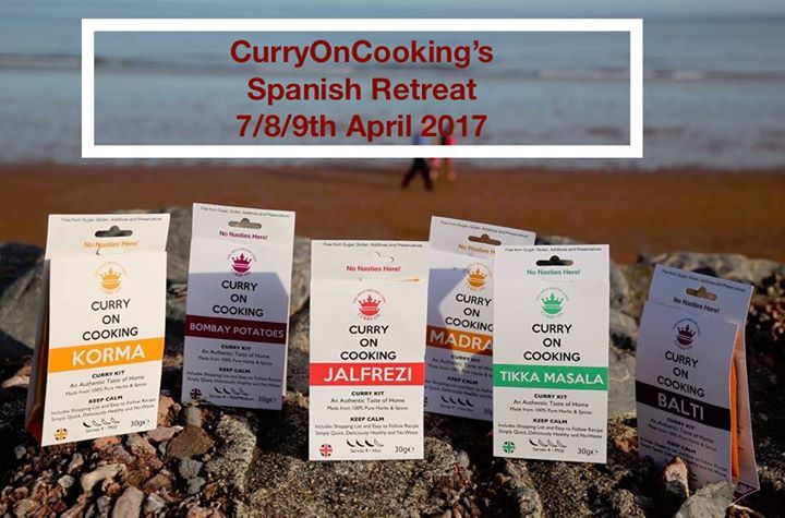 Curry On Cooking's Spanish Retreat 7/8/9 April 2017