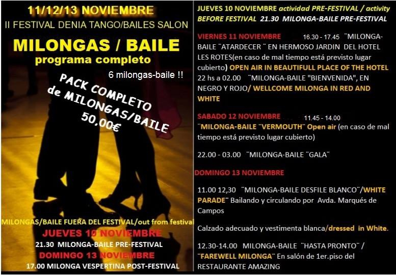 Denia Tango Festival