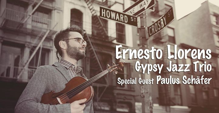 Ernesto Lorens Gypsy Jazz Trio with Paulus Schäfer