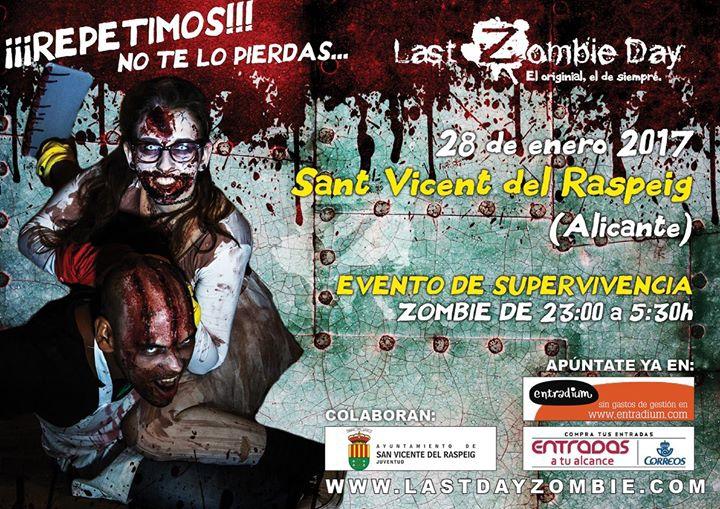 Eventos Zombies en San Vicente del Raspeig