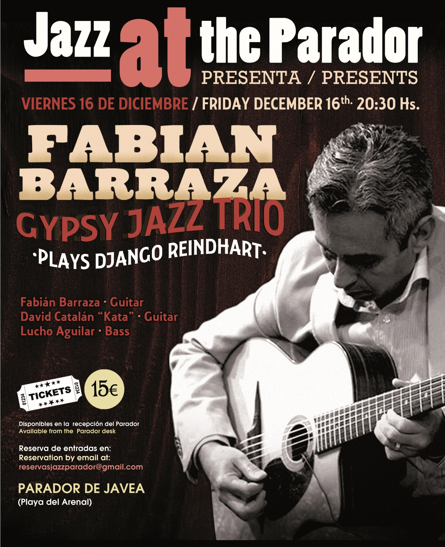FABIAN BARRAZA GYPSY JAZZ TRIO